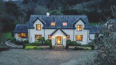 Tranquility Retreats Ireland, Co Louth Split Level House Plans, Square House Plans, Metal House Plans, Dream House Plans, Ireland Homes, Cottages Ireland, House Ireland, House Outside Design, Country