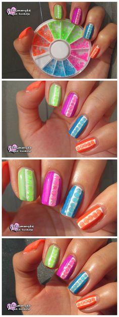 $0.99 400pcs/box 2mm Fluorescent Round Rhinestones Acrylic UV Gel Nail Decoration - BornPrettyStore.com