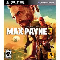 """Brand New Max Payne 3 PS3. Win a 24"""" LED TV go to https://www.facebook.com/events/357448944309371/ for details."""