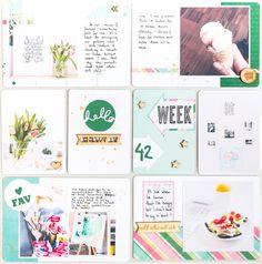 Like the week card.
