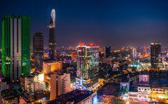Vietnam - Saigon Skyline