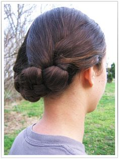 Victorian Hairstyle, for medium length hair.