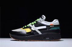 02381be67b66d 2018 BespokeIND Custom Off-White x Nike Air Max 1 in Black For Sale