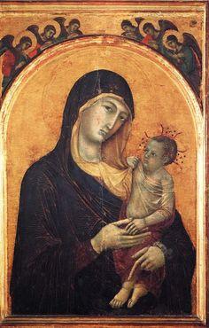Madonna col Bambino (1300 circa; Perugia, Galleria Nazionale dell'Umbria)
