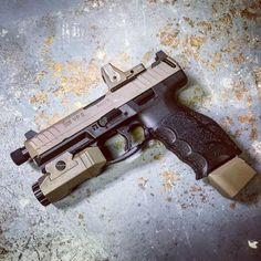 "Nice HK!  ""VP9 work. #odinarms #hkvp9 #nocompromise #trijiconrmr #apochardware """