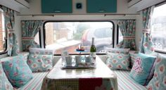 Vintage Caravan Winchester 12 lovely clean and fresh