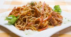 This super spaghetti dish is really quick and easy to make...