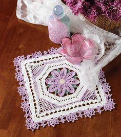 Lovely in Lavender Doily  Design by Carol Alexander http://promotions.drgnetwork.com