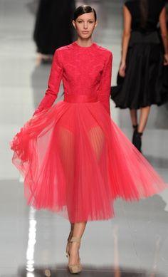 Ballerina style |  Christian Dior F/W 2012/13