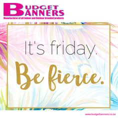 It's Friday! Make the most of your weekend, and go have fun! News South Africa, New South, Good News, Have Fun, Friday, How To Make, Outdoor, Outdoors, Outdoor Games