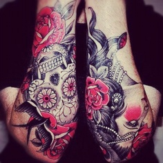 The perfect sleeve tattoo