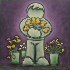 The Flower Seller Duffy, Artist, Flowers, Painting, Artists, Painting Art, Paintings, Royal Icing Flowers, Painted Canvas