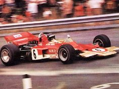 Jochen Rindt - Zeltweg 1970 Lotus 72 Ford