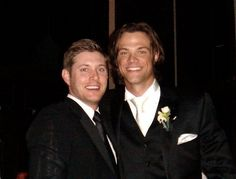Yes, not only were they in each other's weddings, but they now have huge family Christmas celebrations. | Jensen Ackles And Jared Padalecki's Epic Bromance