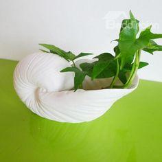 Wonderful 1-Piece Ceramic Conch Vase for Home Decoration