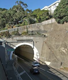 Mt Victoria Tunnel, Wellington, New Zealand - gateway to the eastern suburbs.