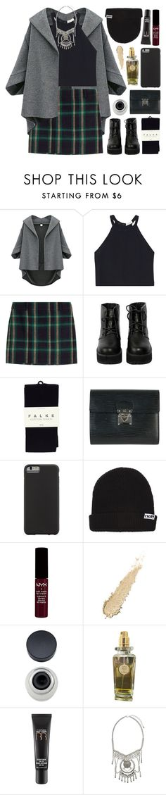 """Aghanim's Scepter"" by yen-and-len ❤ liked on Polyvore featuring A.L.C., Polo Ralph Lauren, The WhitePepper, Falke, Louis Vuitton, Case-Mate, Neff, Caron, MAC Cosmetics and BP."