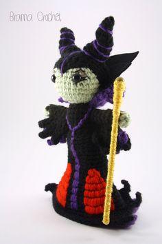 Evil Queen crochet amigurumi doll inspired by by BramaCrochet, $43.00