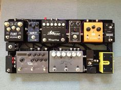 Pedal board posted by Lava Cables on their Fadebook page.
