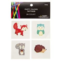 Woodland Critters Tattoos