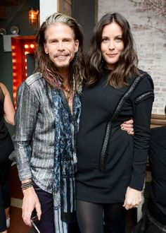 Celebrity Photos 2016:     Steven Tyler and Liv Tyler attend a dinner she hosted with Jefferson Hack at The Fat Radish in New York City on Feb. 10, 2016.