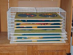 Homemade Montessori: Map Storage--Really Cheap! Holds 8 maps