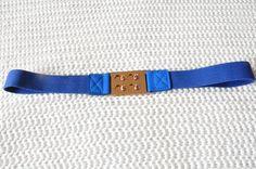 Cobalt blue belt