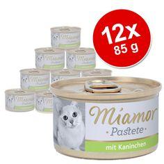 Animalerie  Miamor 12 x 85 g pour chat  cœurs de volaille