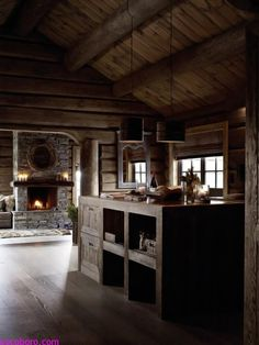 CIEPLE WNETRZE, TYLKO RUSTYKALNE - Rustic Rough Wood House With Vintage Touches 3