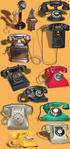 Novo Milênio: Histórias e Lendas de Santos: Um século de telecomunicações (2) Old Technology, Science And Technology, Vintage Phones, Old Boys, Vintage Love, Old And New, Childhood Memories, Pop Culture, Nostalgia
