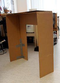 Cation Designs: DIY Cardboard Faux Fireplace