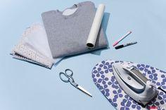 How to Make an Eyelet-Embellished Sweatshirt