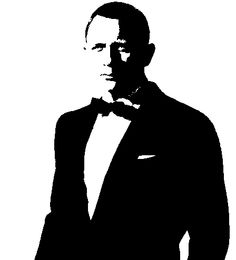 This is a picture of James Bond which I edited on Illustrator