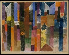 Paul Klee 1915 Before the Town
