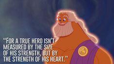 Zeus, Hercules | 23 Profound Disney Quotes That Will Actually Change Your Life