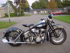 Blog de motos | Diario Motocicleta: Un poco de Historia - Harley Davidson 1940 a 1947