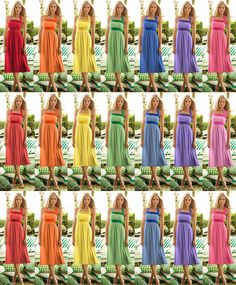 Rainbow bridesmaid dresses visit us on Bride's Book for all tour wedding tips, tools, advise and more at http://www.brides-book.com