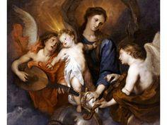 Vergine col Bambino e due angeli musicanti