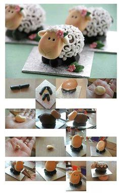 ...from a Cadbury creme egg!