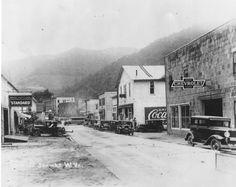 Scene from the 1930's in Webster Co., WV