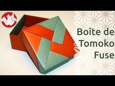 Origami - Boîte de Tomoko Fuse - Tomoko Fuse Box [Senbazuru] - YouTube