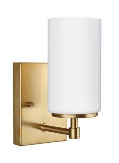 One Light Wall / Bath Sconce : 4124601EN-848 | Masterpiece Lighting