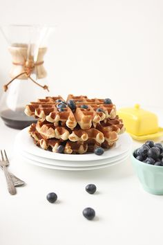 Whole Wheat Waffles | The Fauxmartha
