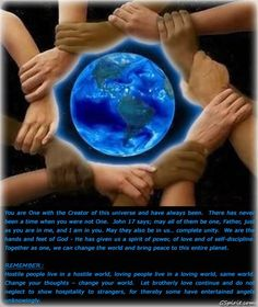 Universal Oneness.  We are One Energy. All Energy is the same Oneness, the same Light, the same Love, the same God. We Are One.