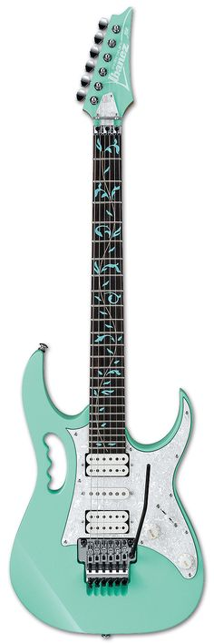 Oh. This reminds me of my first guitar so much! Electric Guitars - JEM70V | Ibanez guitars
