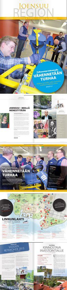 ASIAKASLEHDET JA JULKAISUT; Joensuu Region -lehti www.joensuuregion.fi