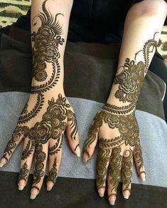 Mehndi is one of the most important. It is a loved one and never gets old designs. There is a lot of verity of latest mehndi designs for you. Indian Henna Designs, Full Hand Mehndi Designs, Mehndi Designs For Girls, Modern Mehndi Designs, Wedding Mehndi Designs, Mehndi Designs For Fingers, Latest Mehndi Designs, Henna Tattoo Designs, Modern Henna