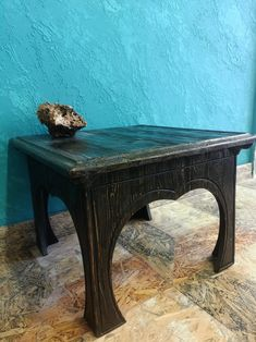 Coffee table/Console table/Side table/End table/Accent tables/Squared coffee table/Wood coffee table/Rustic coffee table/Small table EUR Small Tables, End Tables, Rustic Coffee Tables, Night Table, Accent Tables, Console Table, Simple Style, Simple Designs, Entryway Tables
