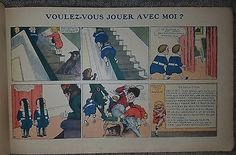 Buster Brown Le Petit Farceur  OUTCAULT R.F Illustrated 1917 1st French Chistmas