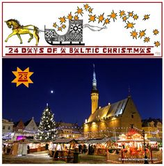 A Baltic Christmas Day 23 - The Tallinn and Rīga Christmas markets!
